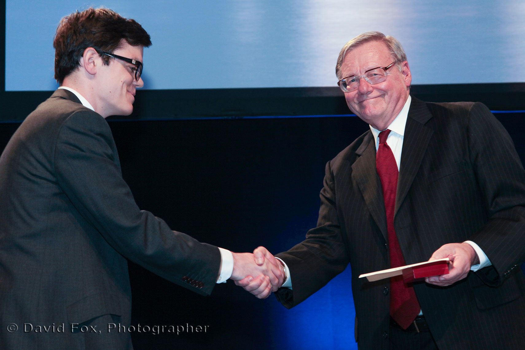 IFA Award Recipient Handshake by David Fox Photographer