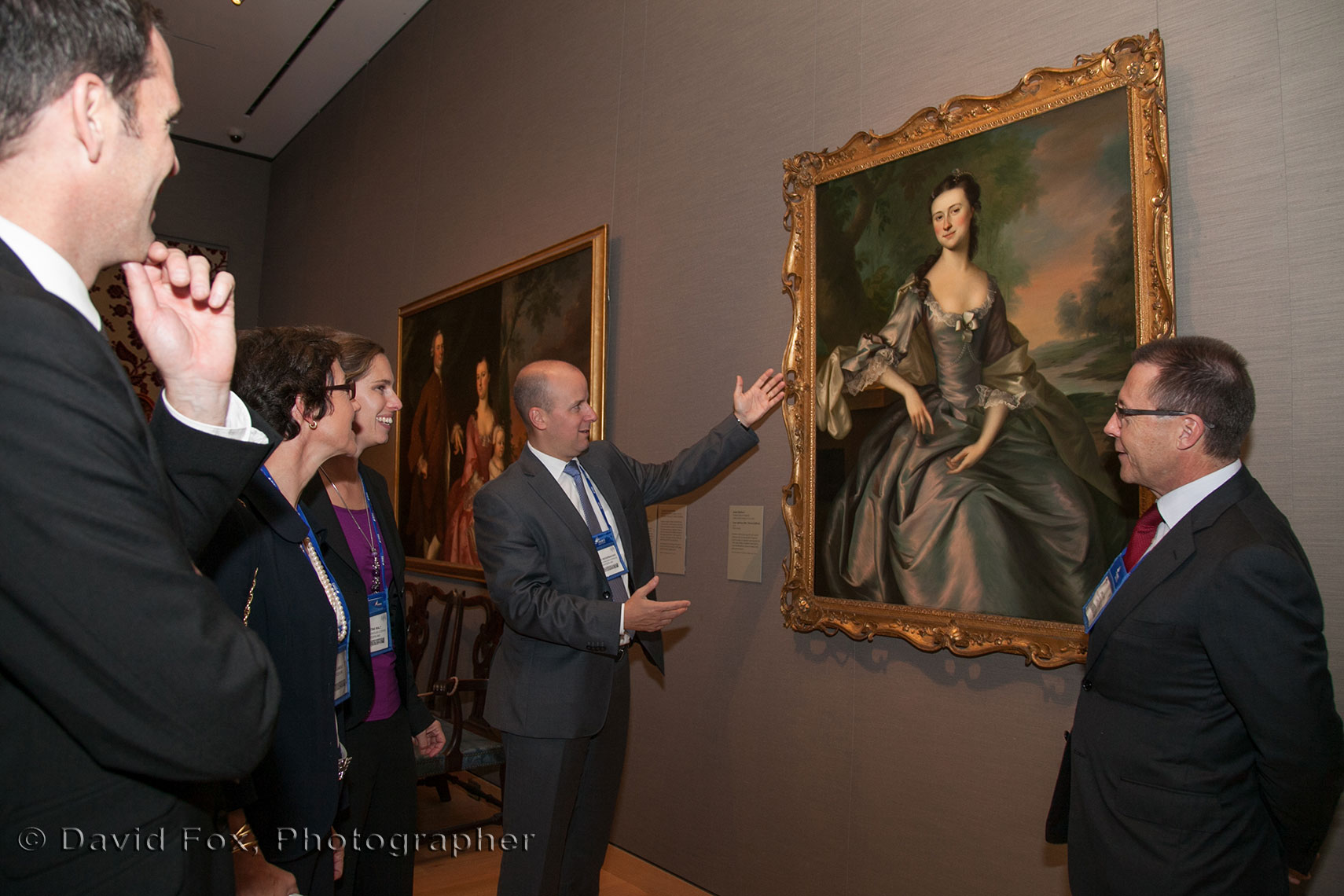IFA Gala Attendees admiring Artwok at the MFA in Boston