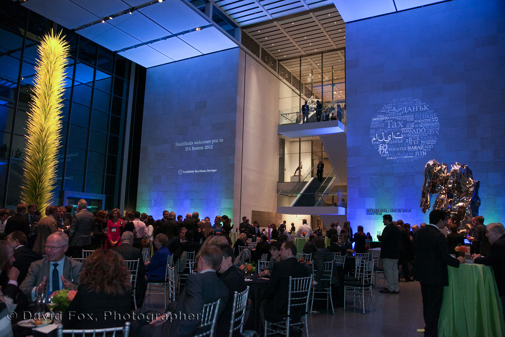 IFA Gala Pre Awards Dinner at the MFA New American Cafe
