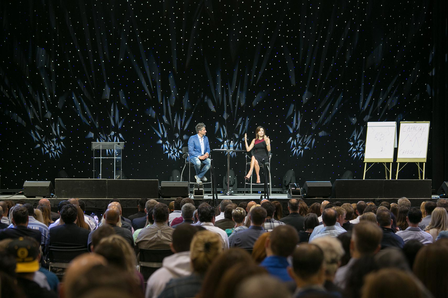 Bethenny Frankel at the National Achievers Congress Boston