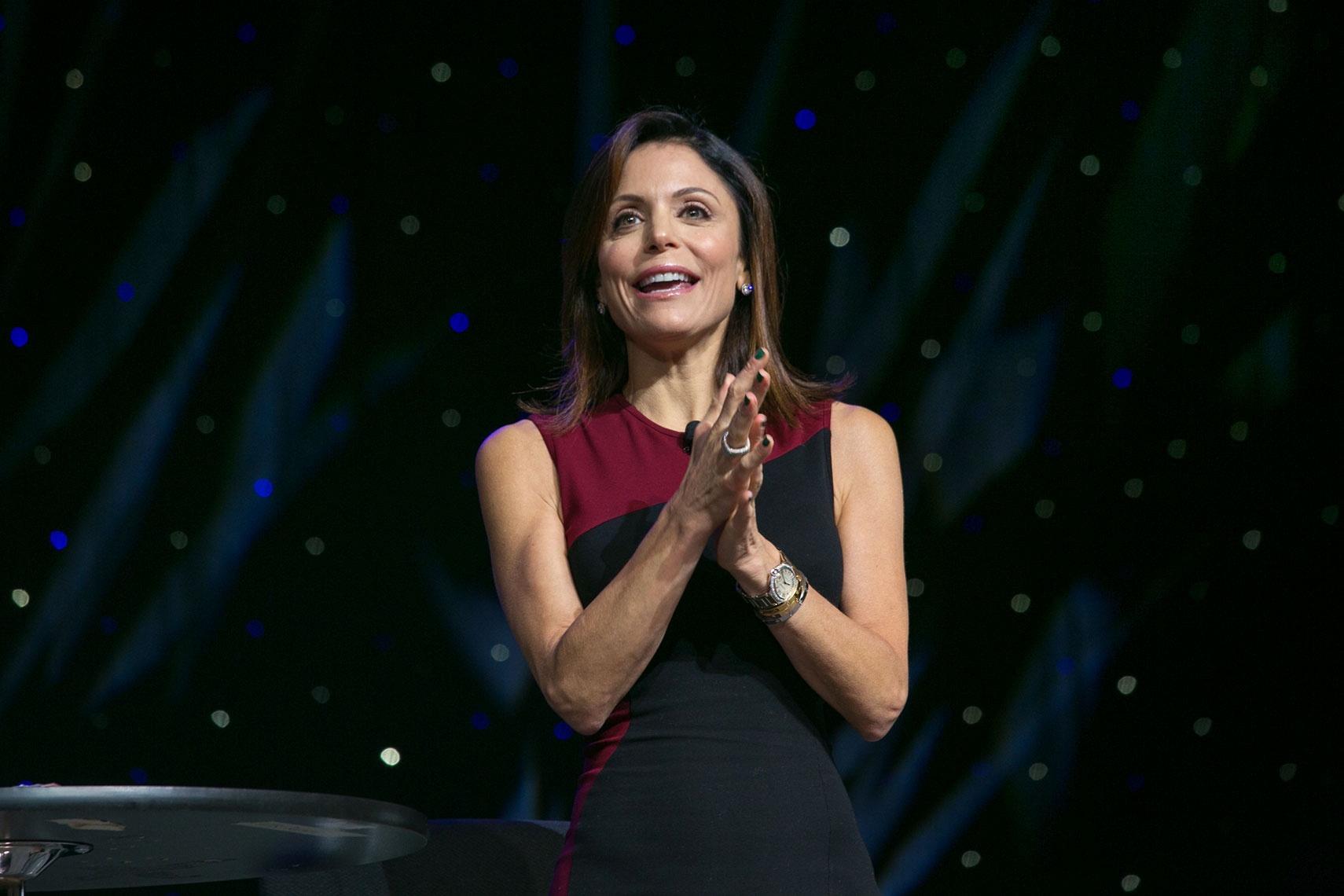 Bethenny Frankel at the National Achievers Congress Boston 2017