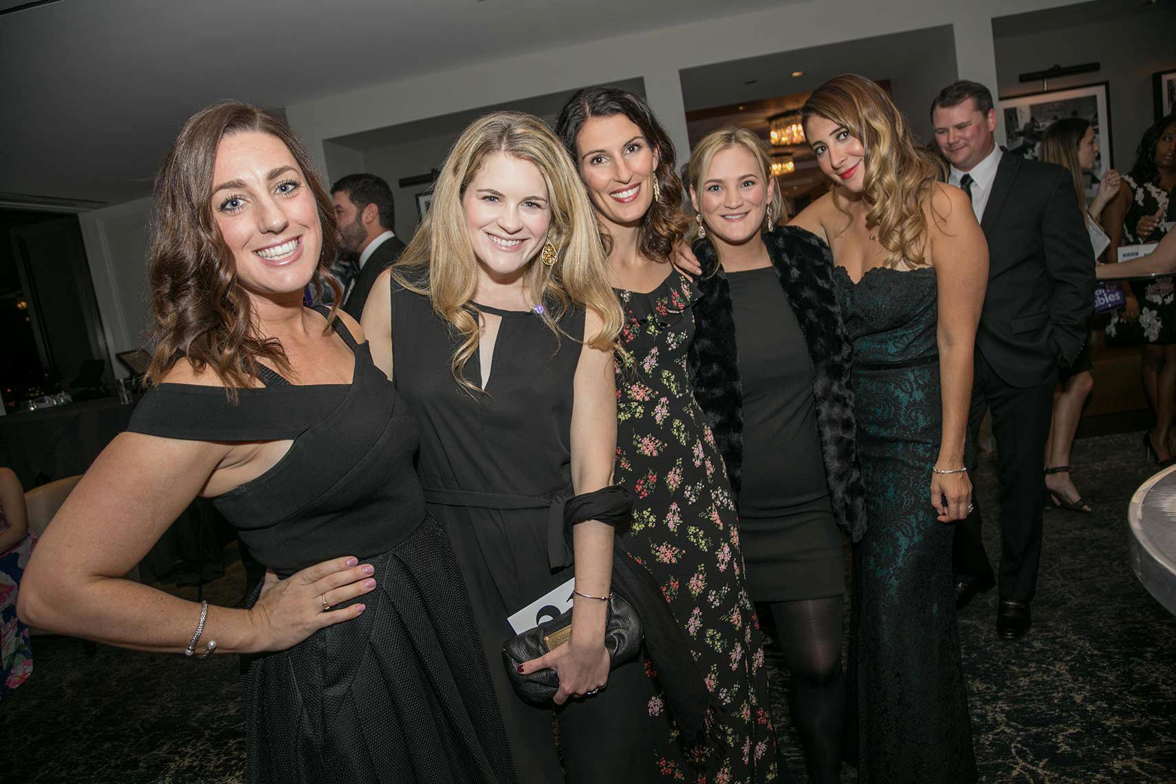 016-A-casual-group-photo-of-some-young-women-at-the-Black-Ties-for-Babies-fundraiser-in-Boston