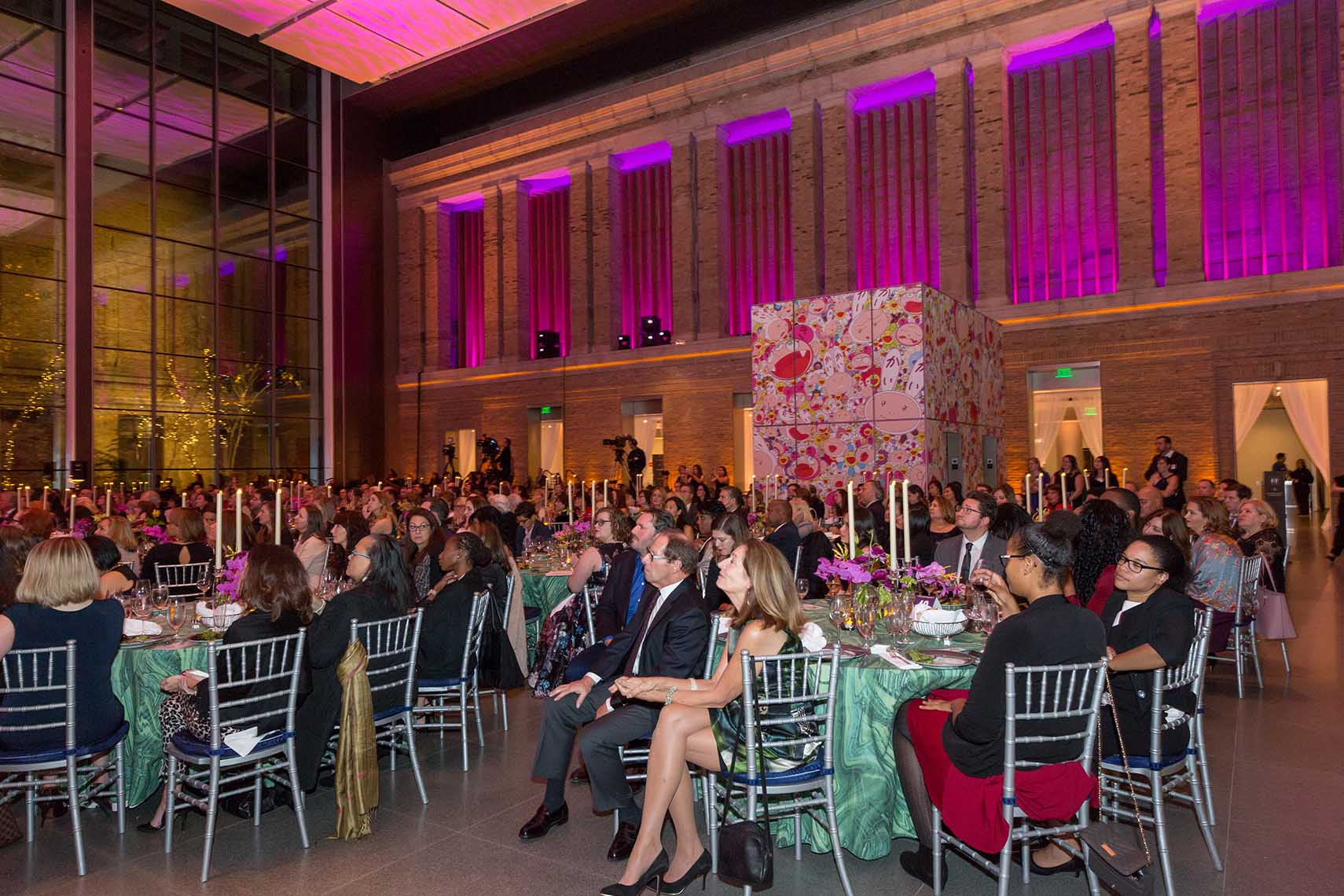 The audience at the Big Sister Gala at the MFA in Boston