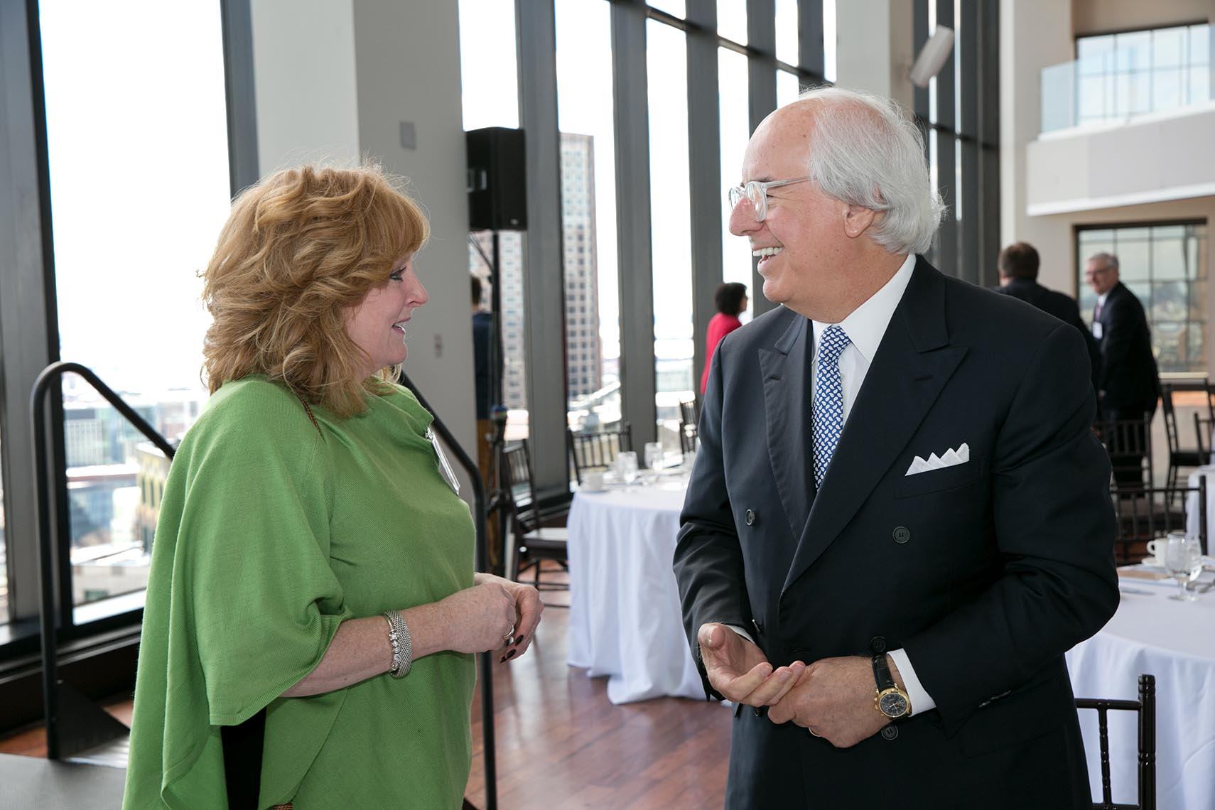 Member of the Association of Legal Administrators Speaking with Frank Abagnale Jr
