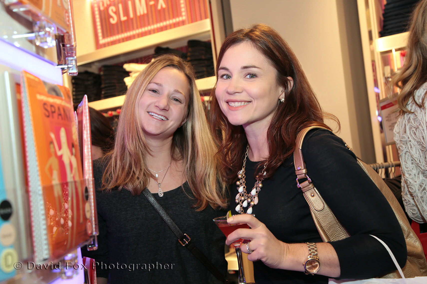 Happy Shoppers at Spanx Natick Store Opening