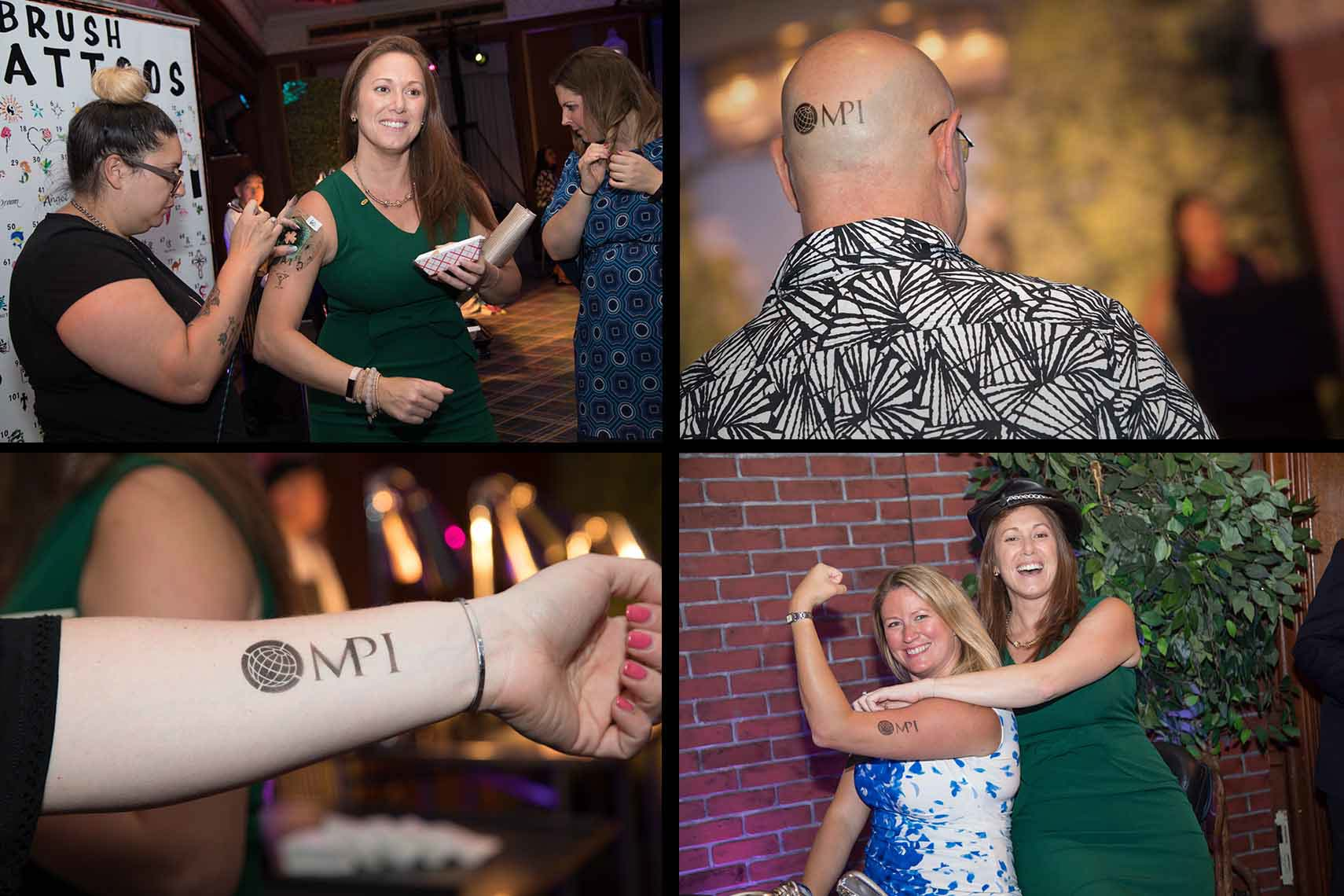Event Temporary Tattoo Fun at the Gala . 2017