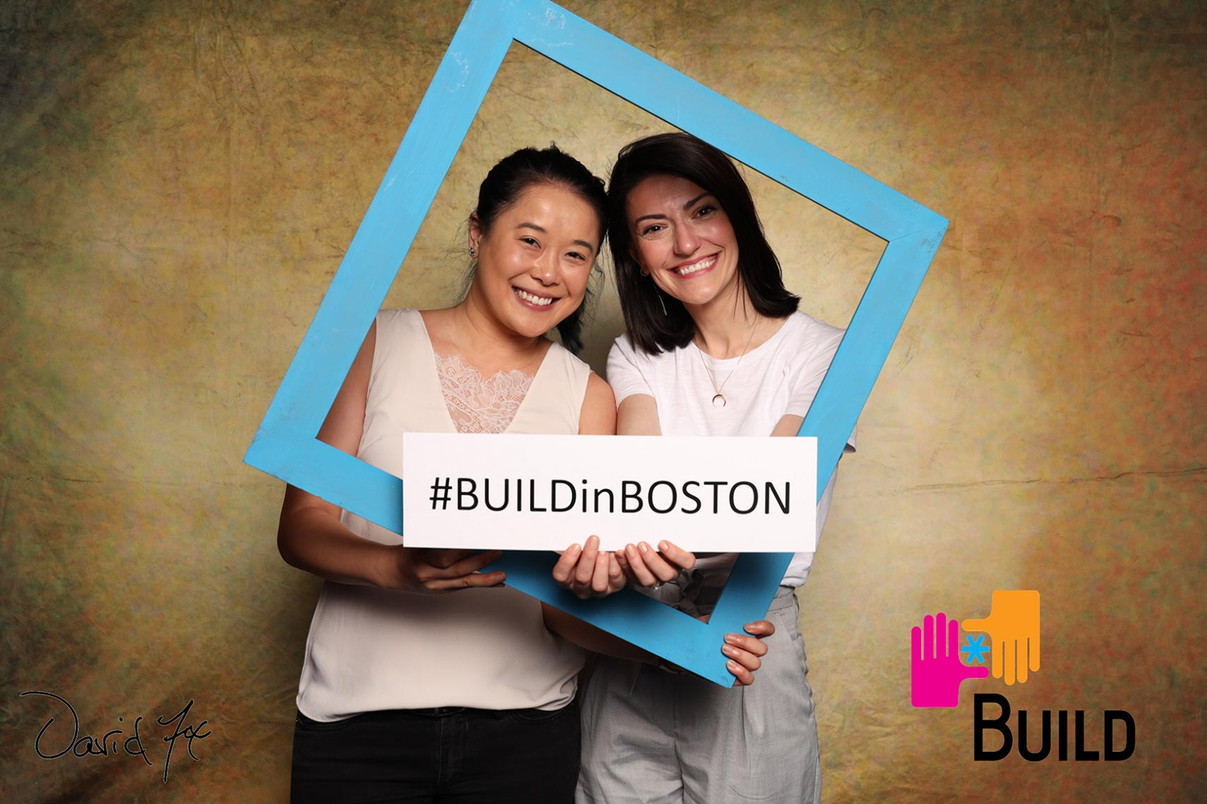 Photobooth fun at BUILD Boston BUILD Fest