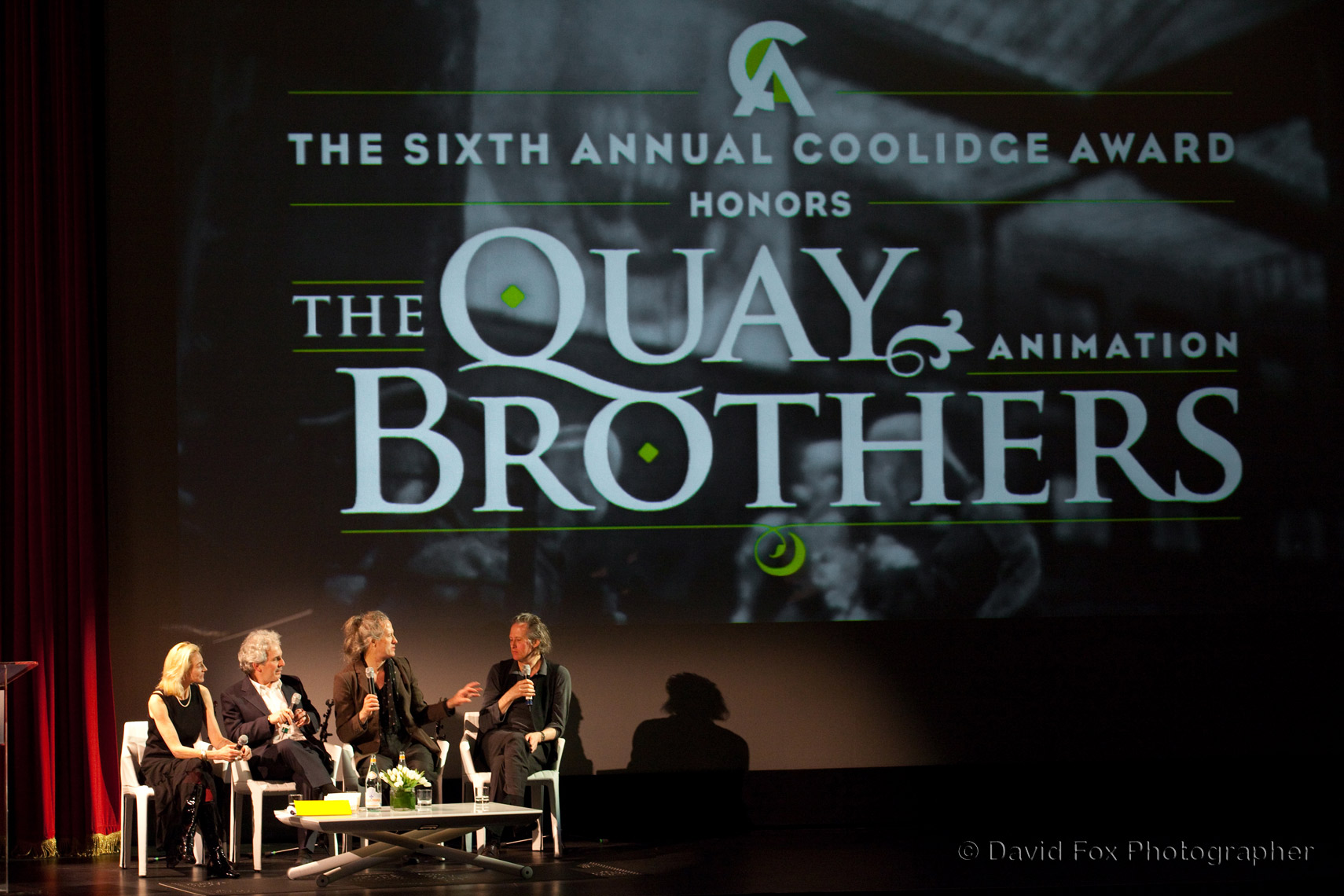6th Annual Coolidge Award The Quay Brothers Animation Brookline