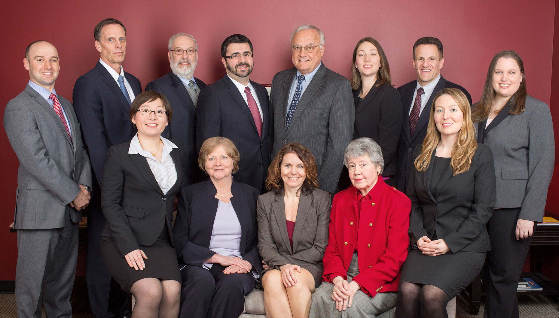 Corporate Group Portrait by David Fox Photographer
