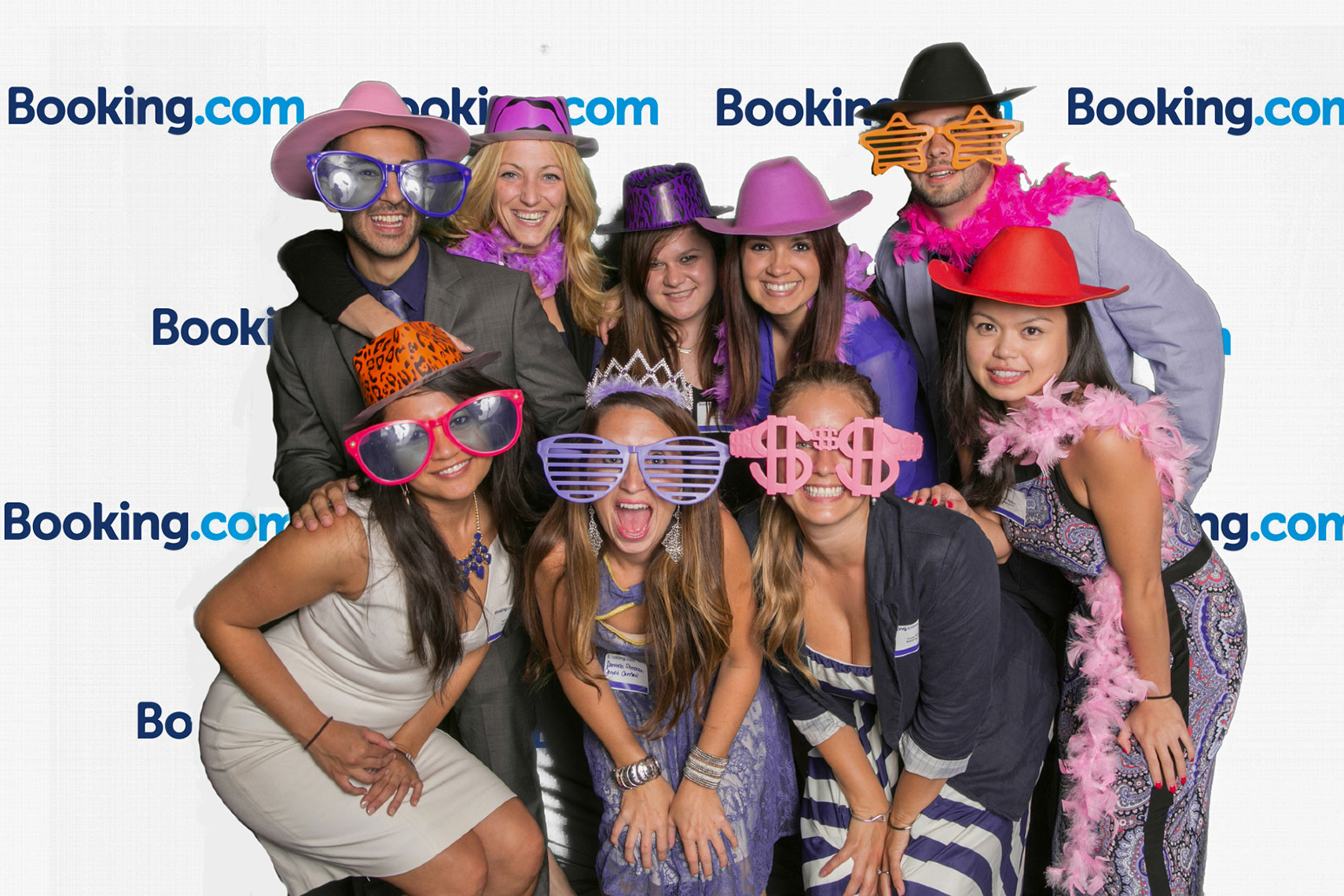 Fun Green Screen Event for Booking.com Employee Outing