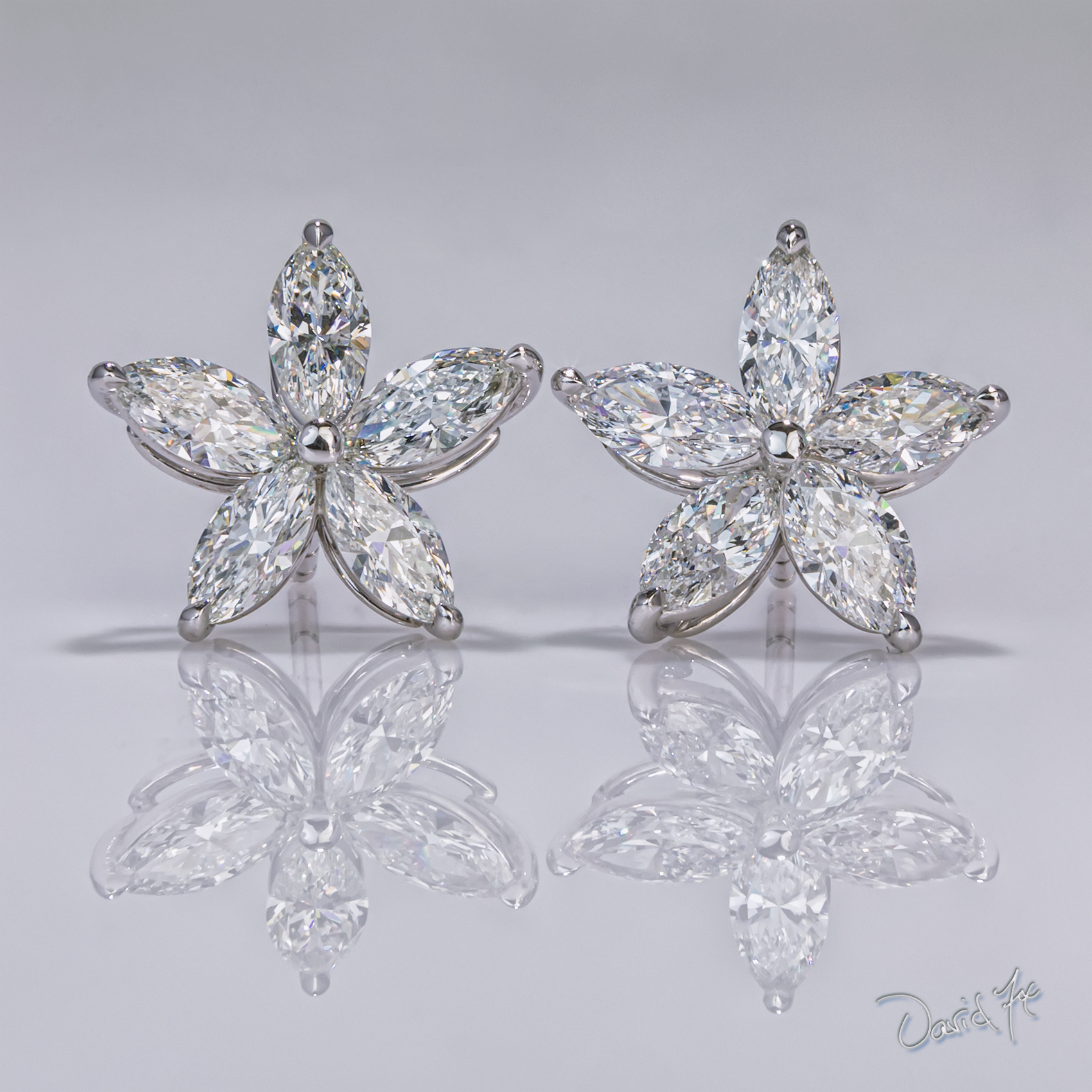 Diamond Earrings - DePrisco Jewelers Wellesley MA.