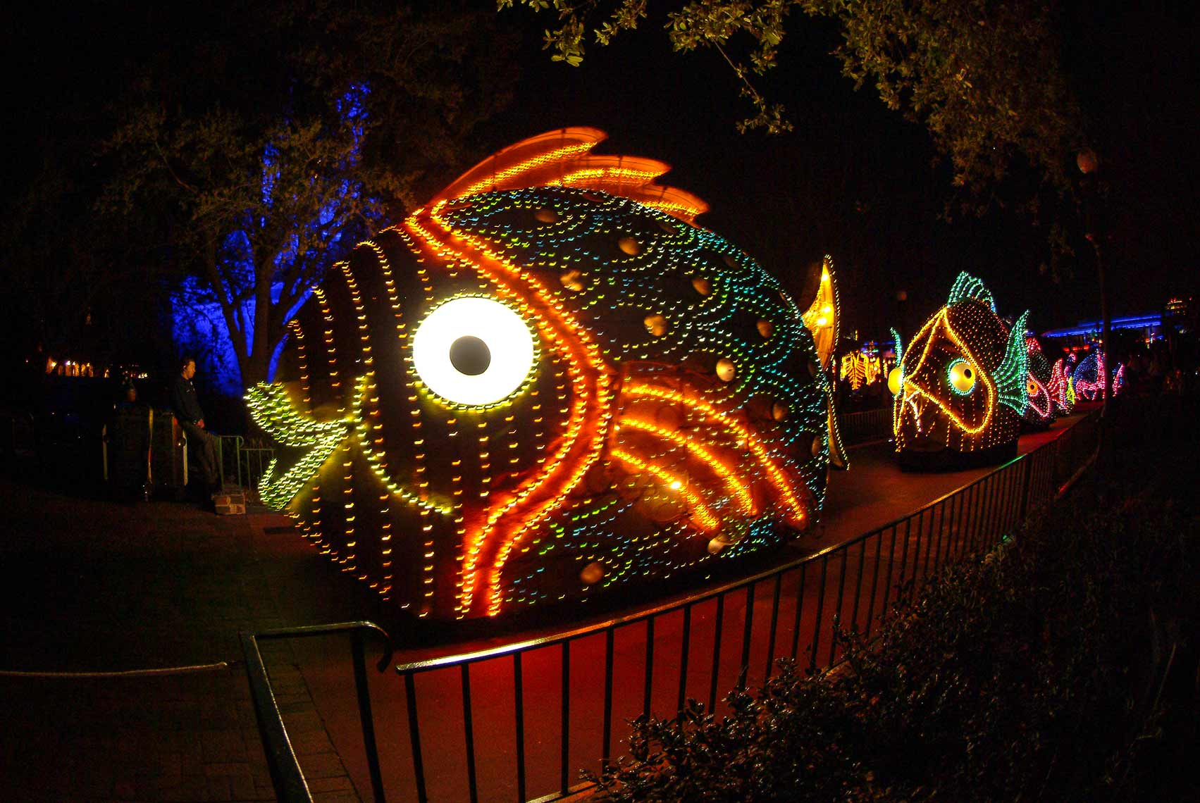 Disney Spectro Magic Parade Fish