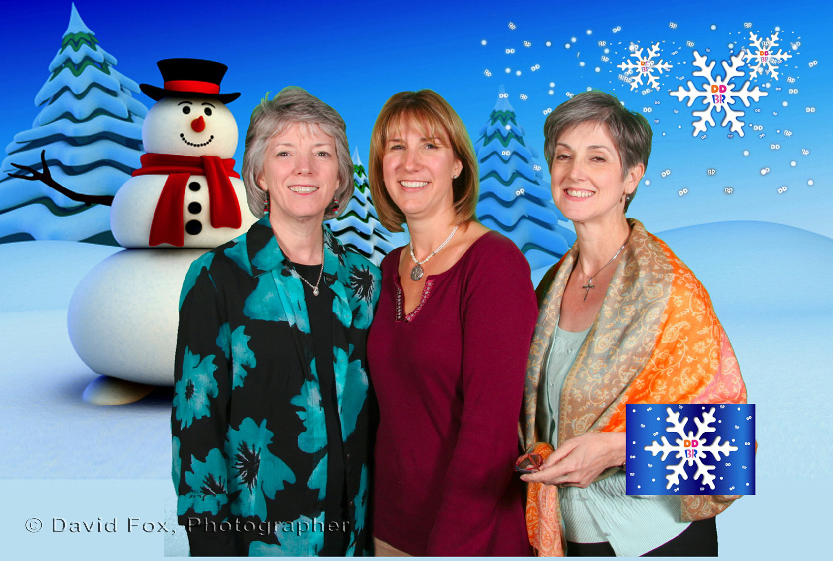 Dunkin Donuts Green Screen Holiday Card Marketing