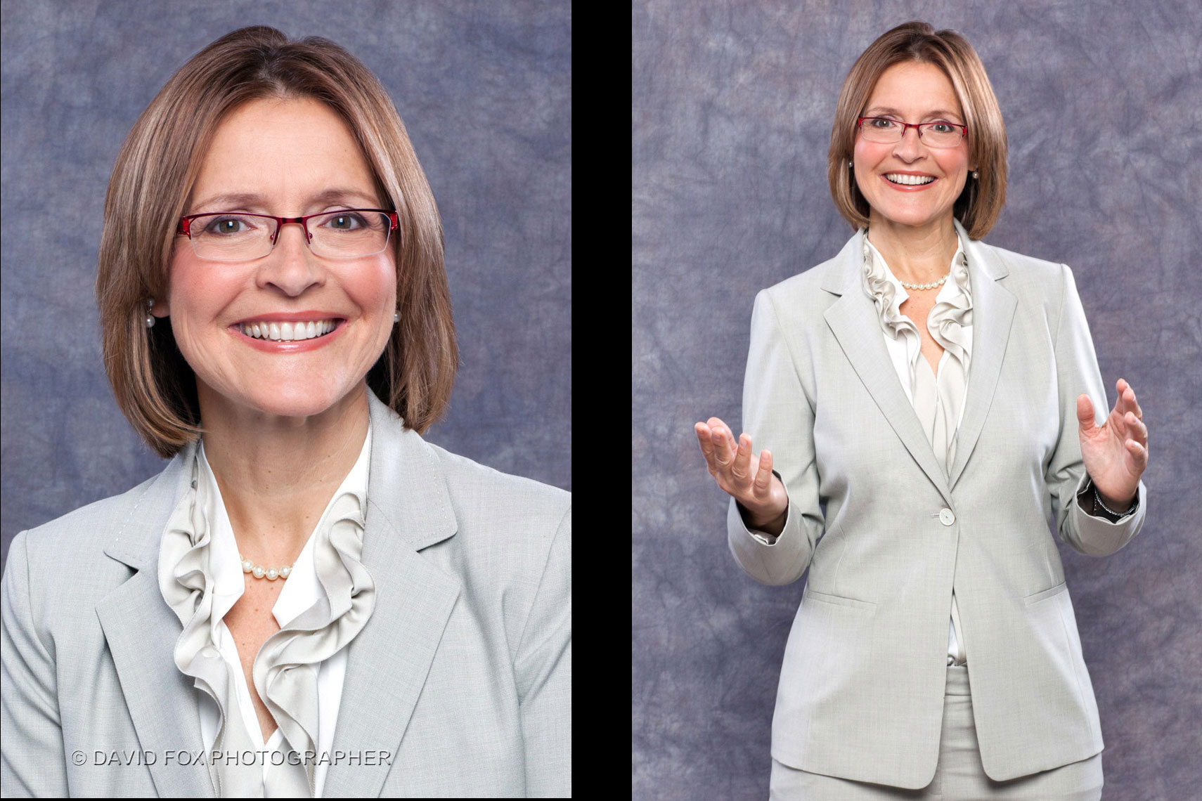 Female Executive Portrait Portfolio for Business