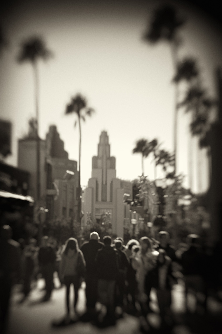 Hollywood Boulevard Sorcerer Hat Sepia David Fox Photography