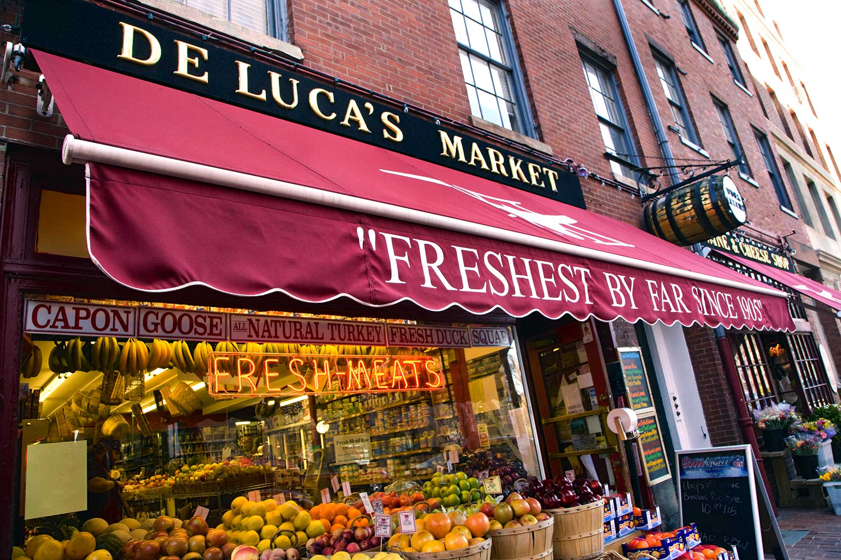 De Lucas Market on Charles St. Boston