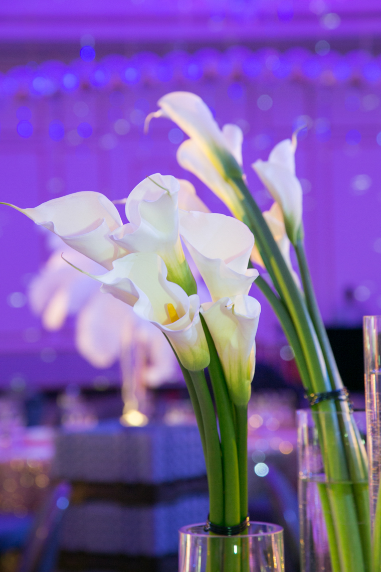 Floral Decor Calla Lilies Corporate Event MPINE Gala Floral Decor Calla Lilies
