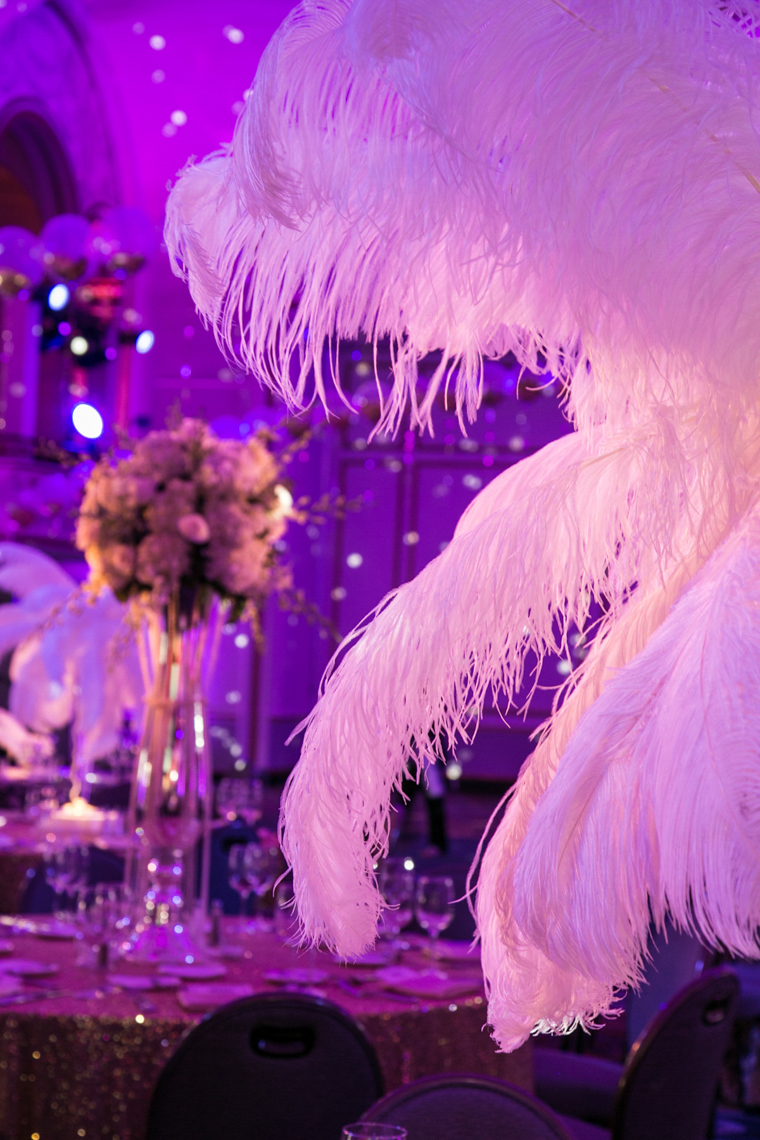 Feathers Gala Decor MPINE  David Fox Photographer