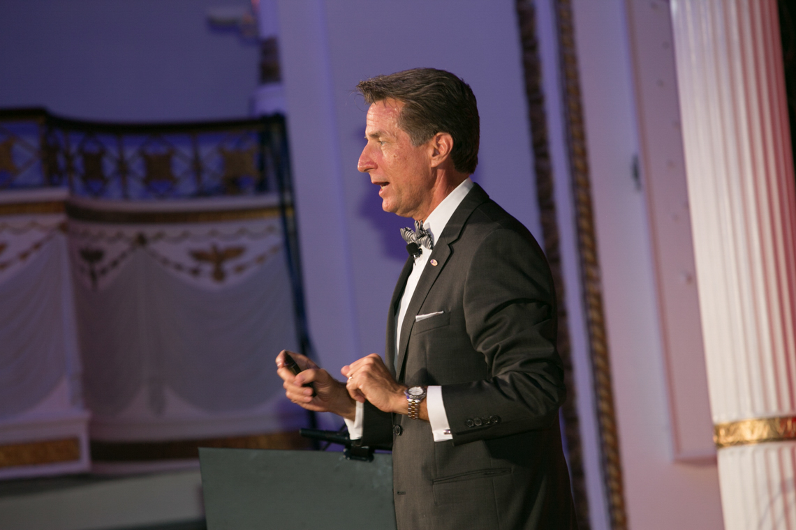 Gala Speaker Kevin Kirby at Boston Park Plaza  MPINE 2015