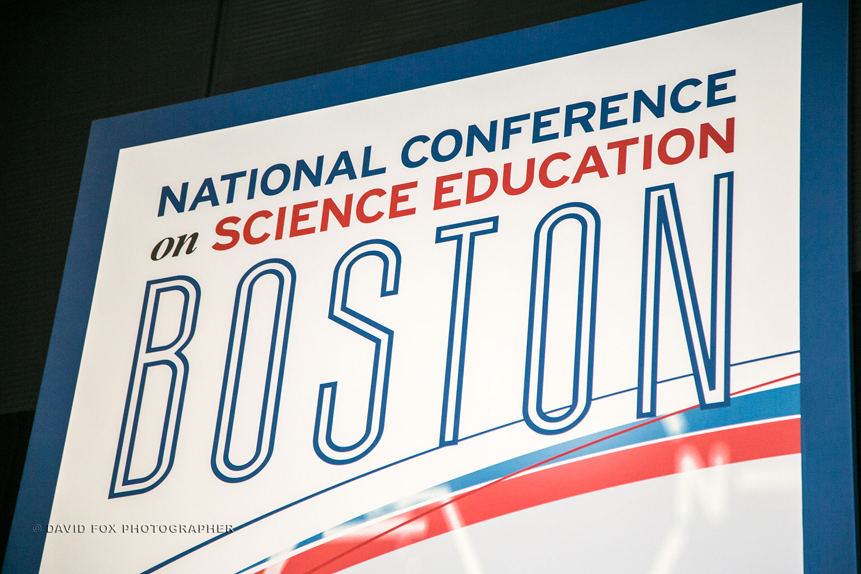 NSTA Conference Welcome Sign by David Fox Photographer
