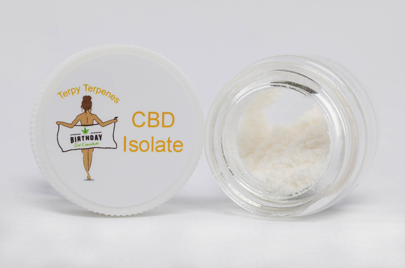 CDB Isolate Terpy Terpenes