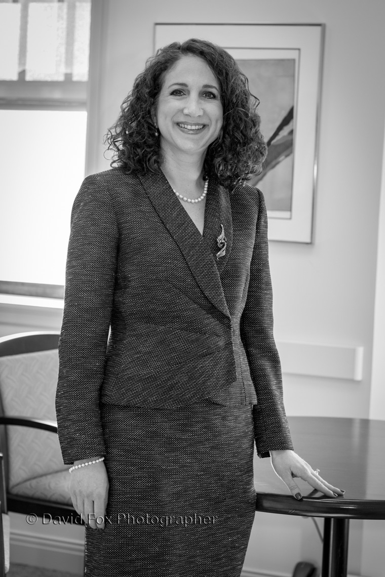 Portrait of Mara Bloom  Executive Director of Mass General Cancer Center