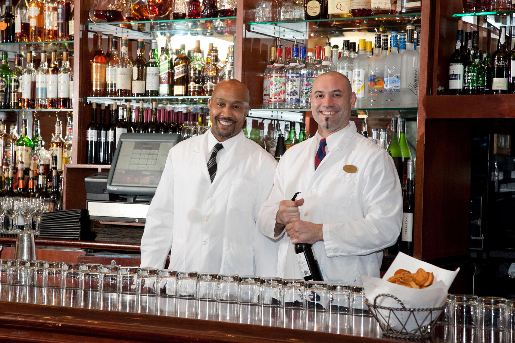 Two Friendly Bartenders