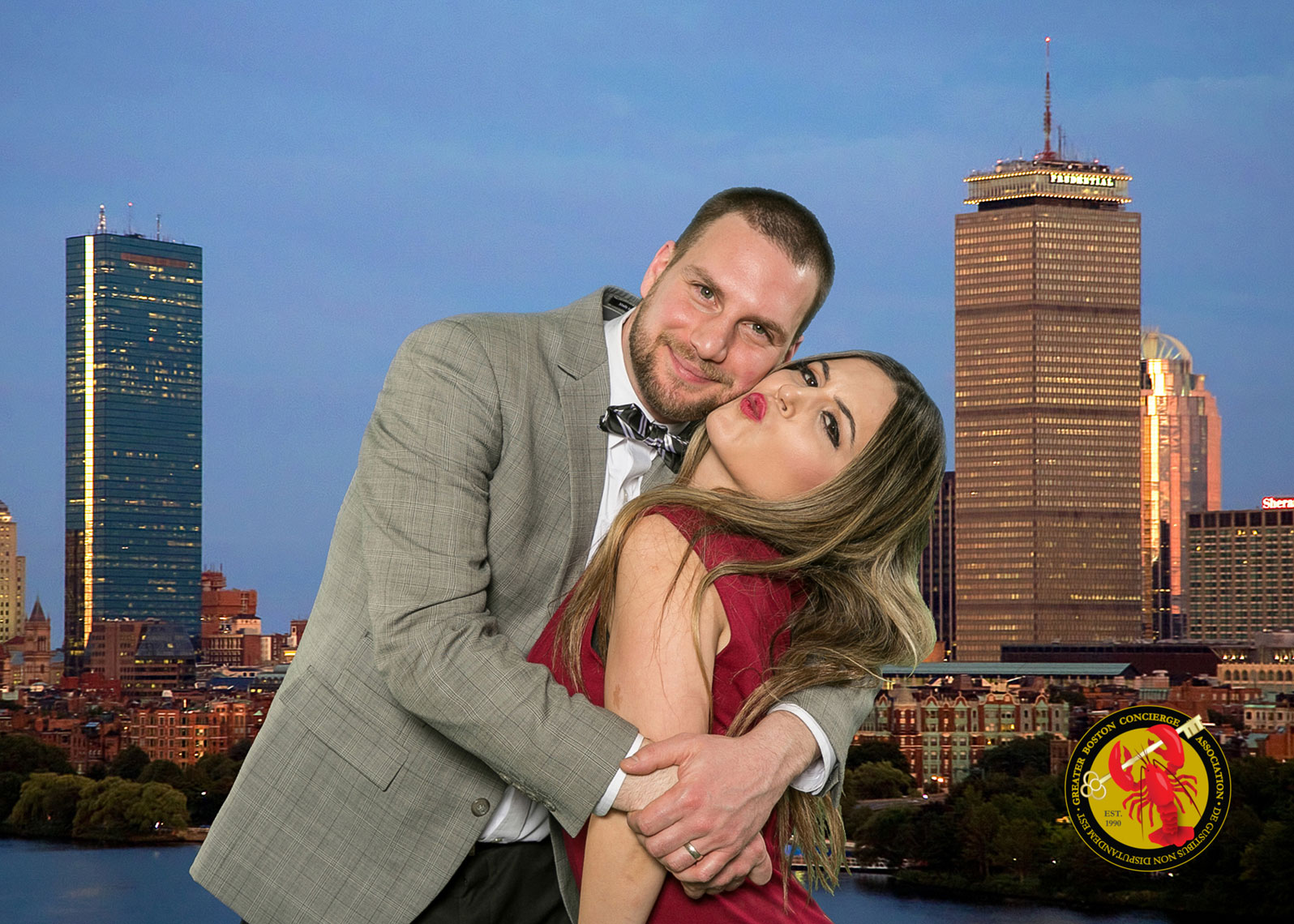Green Screen Fun with Boston Background Added for GBCA