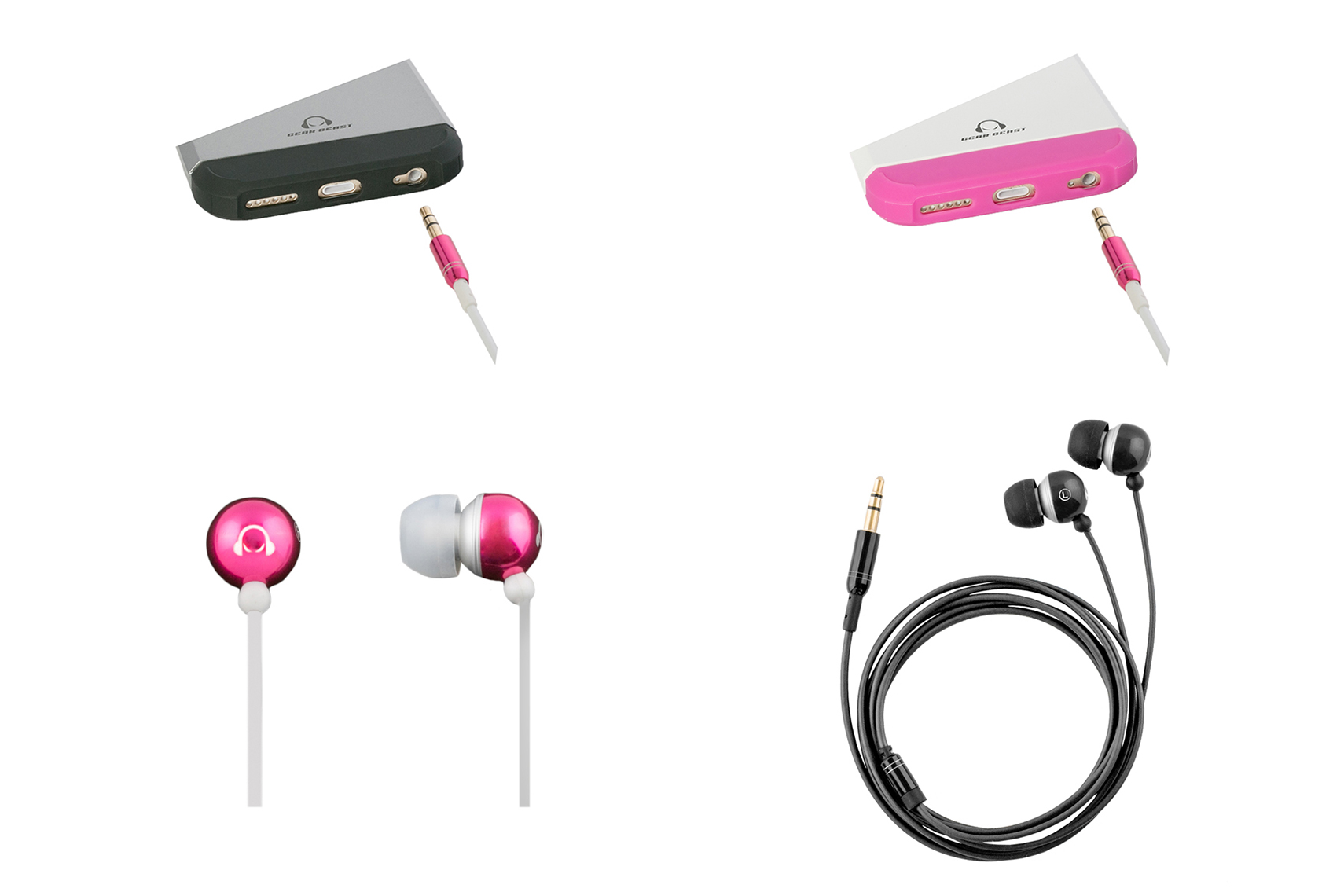 iPhone 6 Ear Bud Color Coordinated Accessories