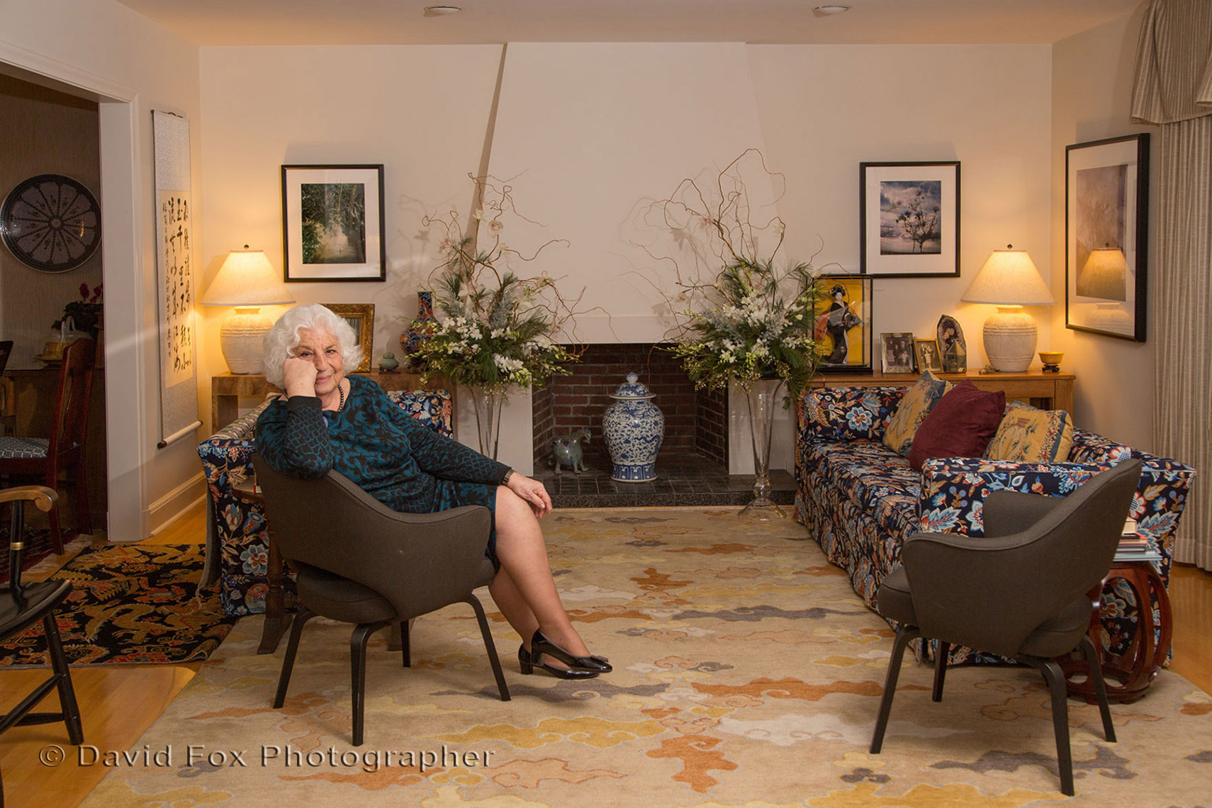 Senior Lifestyle Portrait Home Interior
