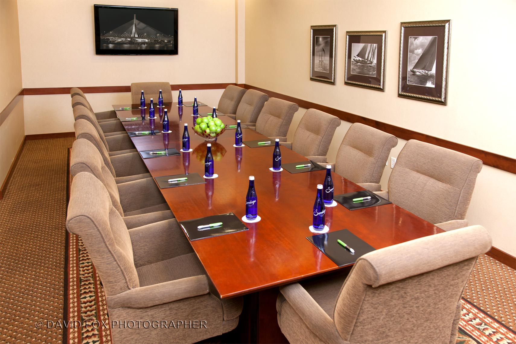 Conference Room  Interior Marriott Woburn